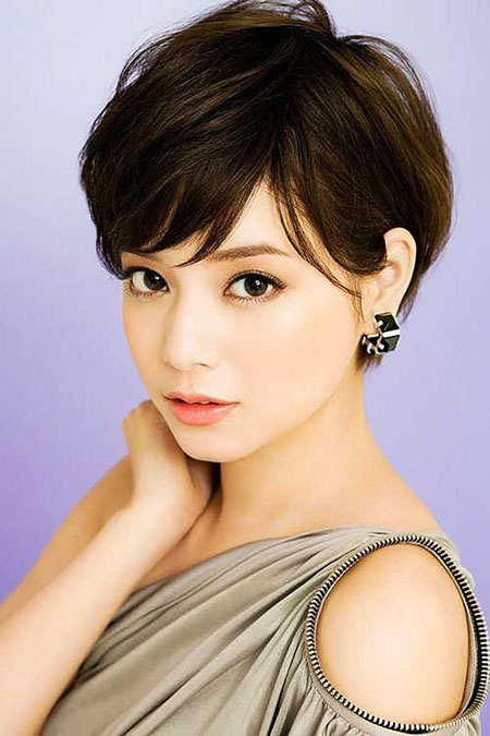 Hair Short Pixie Cute