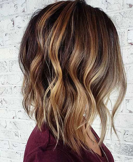 Balayage Hair Caramel Highlights