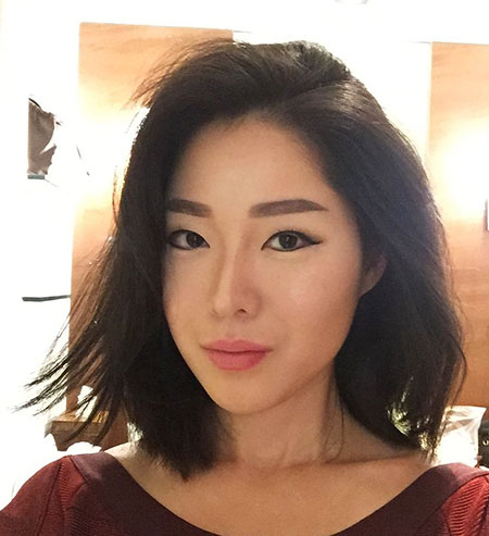 Hair Asian Blunt Bob