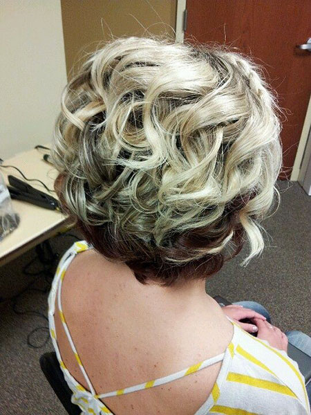 Wedding Hair Curly Updo