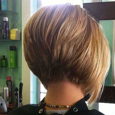 Inverted Cut, Bob Inverted Hairtyles Honey