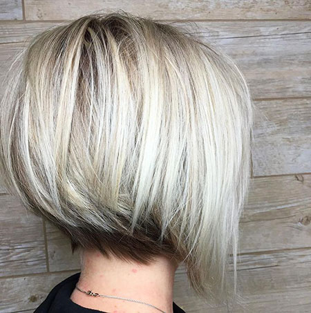 Angled Textured Cut, Bob Bobs Angled Textured