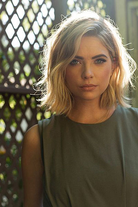 Ashley Benson Blonde Hair, Hair Benson Hairtyles Short