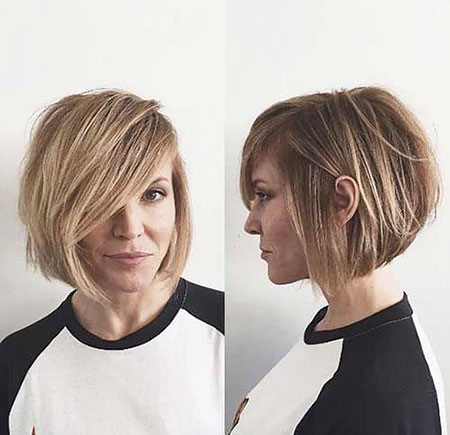 Cute Tousled Bob, Bob Cute Short Hair