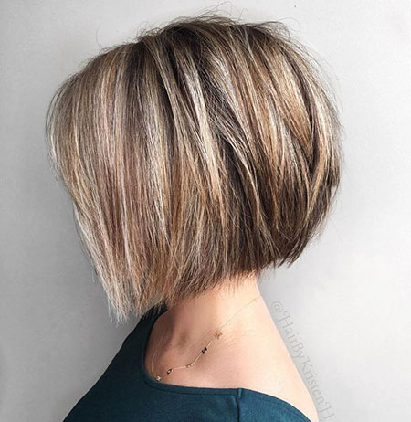 Blonde Bob Style, Bob Layered Blonde Length