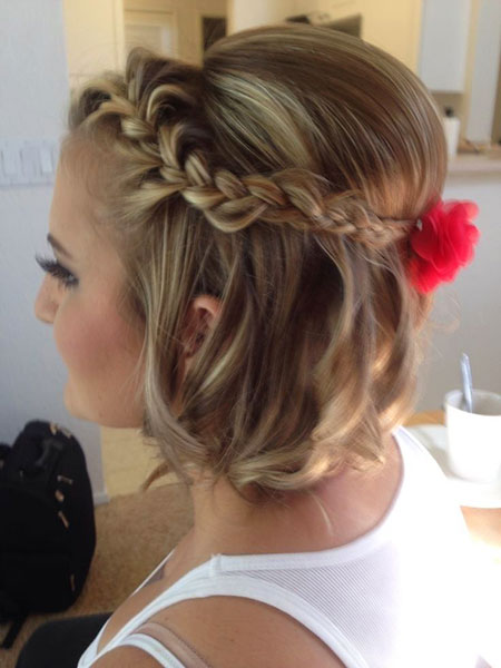 Cute Braided Updo, Hairtyles Braided Braids Hair