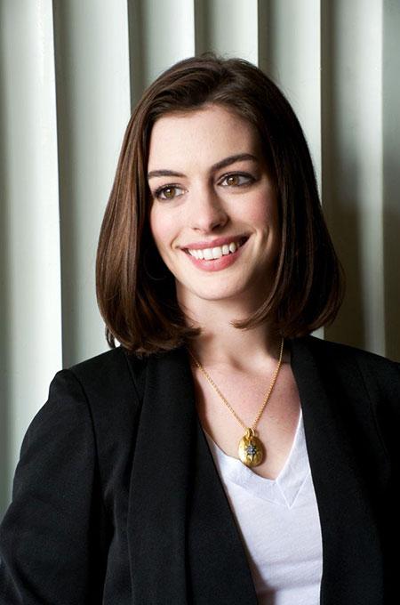 Anne Hathaway Hair Coleman