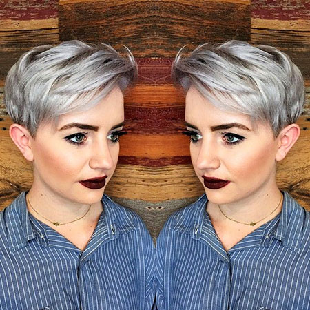 Pixie Gray Short Color