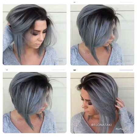 Bob Choppy Short Lavender
