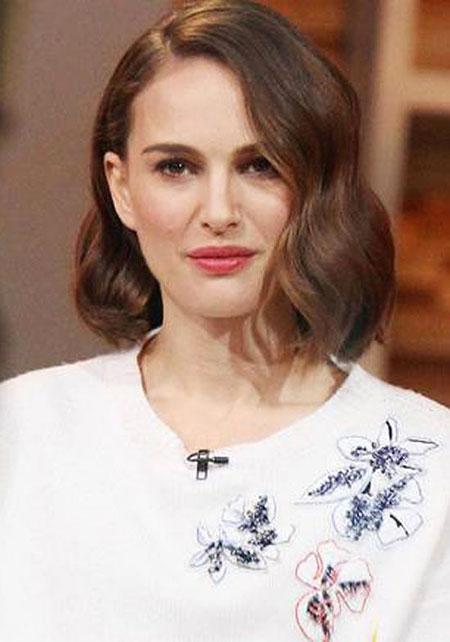Natalie Portman Angelina Hair
