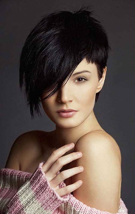 Short Hair Faces Women