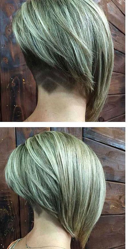Bob Angled Hair Blonde