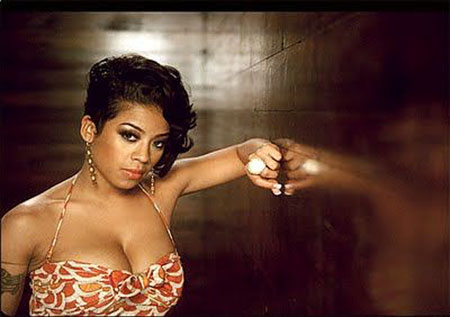 Keyshia Cole Short Hairtyle, Keyshia Cole Ladies Beauty