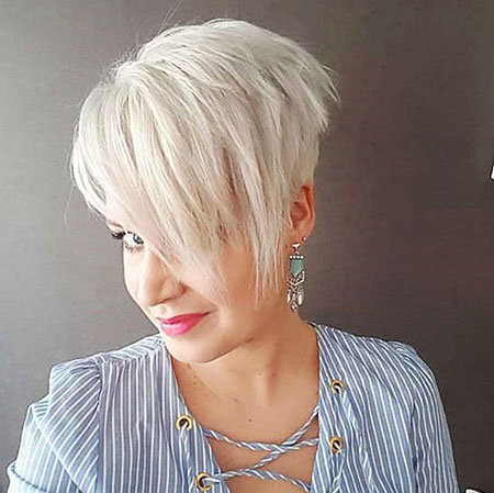Short Thin Hairtyle 2018, Pixie Thin Shaggy Cut