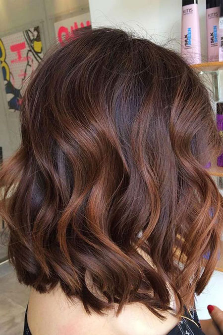 Brown Balayage Caramel Hairtyles