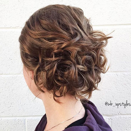 Updo Updos Curly Hair
