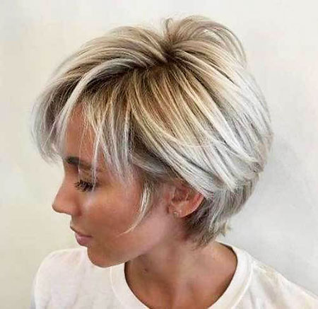 Choppy Layered Long Blonde