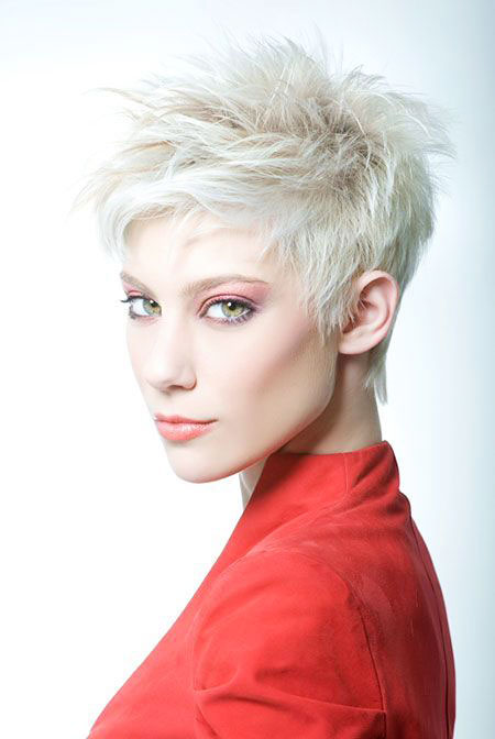 Pixie Short Color Messy