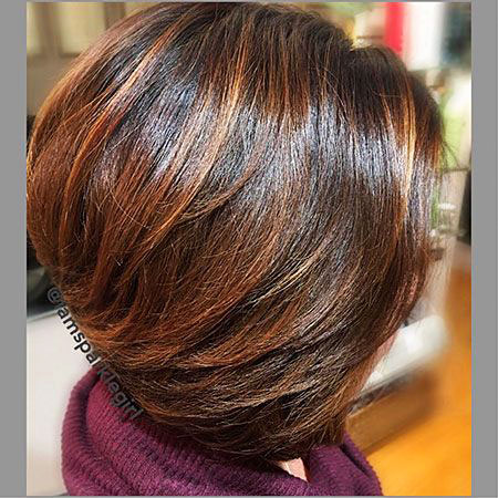 Bob Medium Brown Length