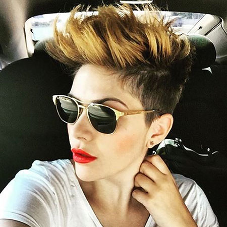 Hair Undercut Short Pixie