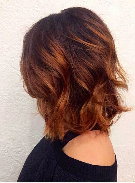 Bob Brown Balayage Long