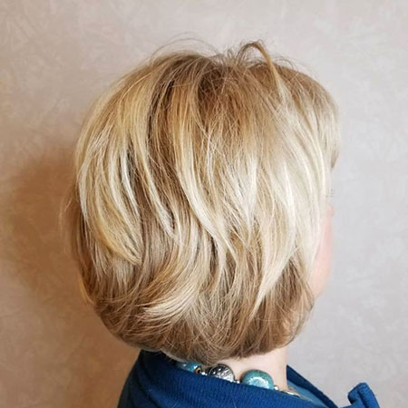 Blonde Layered Short Layers