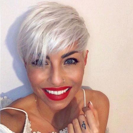 Short Hair Hairtyles White