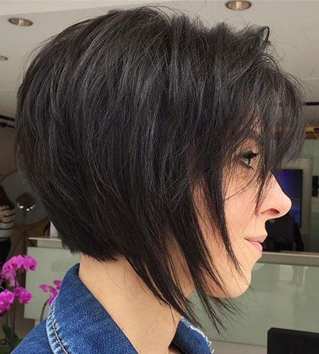 Bob Layered Dark Brown