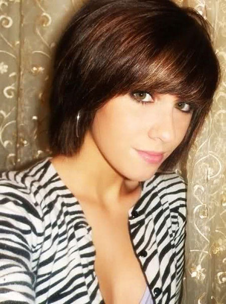 Hair Bob Short Bangs