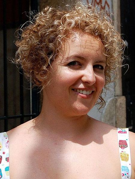 Curly Fat Hair Women