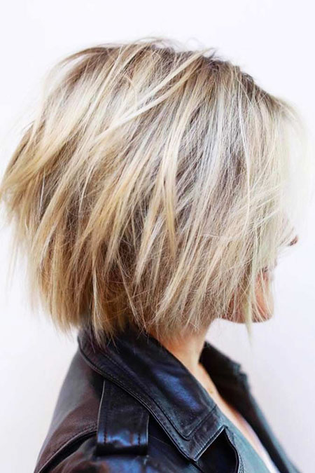 23 Short Blonde Hairstyles For Thick Hair Short Hair Color