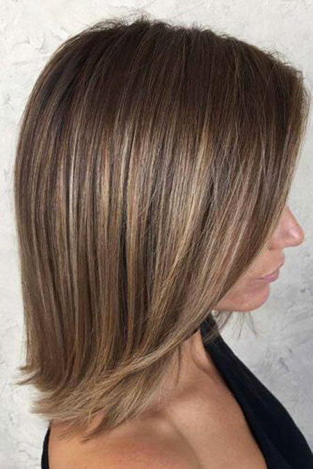 Layered Length Bob Ombre
