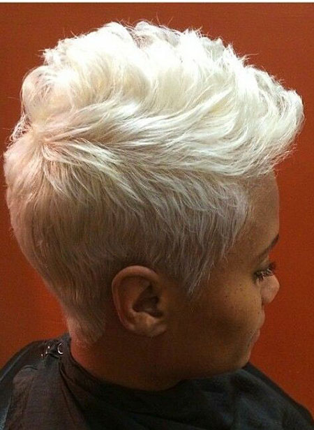 Pixie Blonde White Short