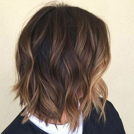 Balayage Brown Highlights Hair