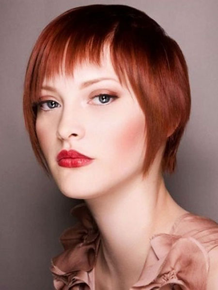 Copper Red Pixie, Bob Red Hairtyles Hair