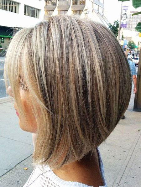 Blonde Thick Bobs Lob