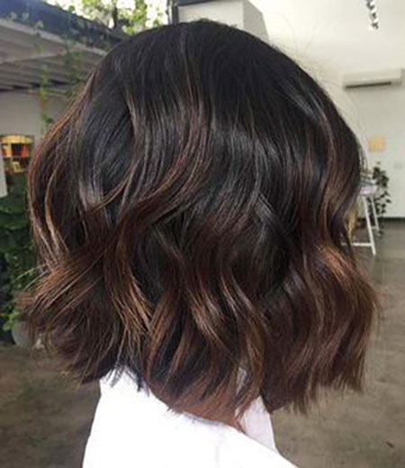 Chocolate Wavy Brown Brunette