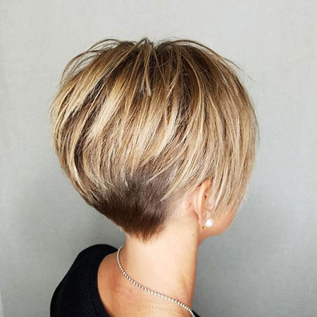 Pixie Blonde Choppy Layers