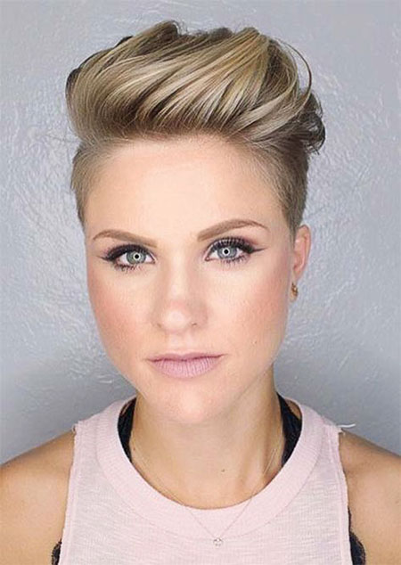 Pixie Women Undercut Hair