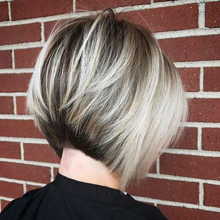 Blonde Balayage Bob Brown