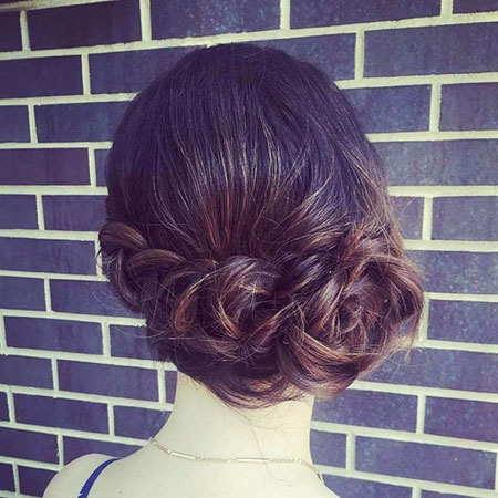 Updo Updos Medium Braided