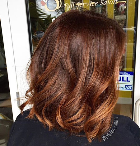 Hair Color Brown Highlights