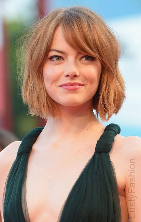 Emma Stone Cute Bob, Hair Bobs Short Emma