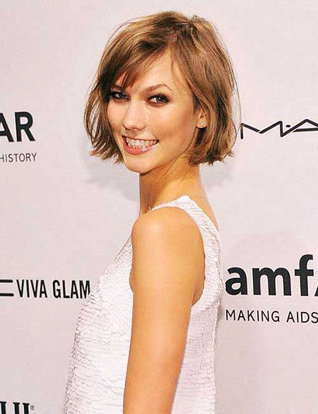 Cute French Bob Style, Bob Hair Short Bangs