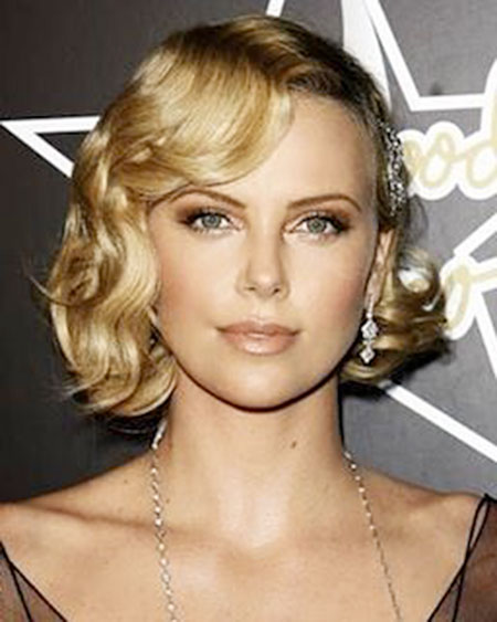 Classy Curly Bob for Brides, Curly Hair Short Hairtyles