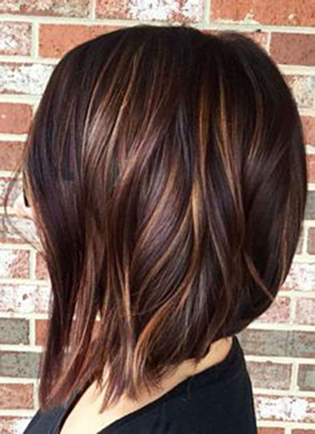 Length Color Layered Brown