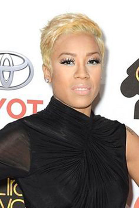 Hair Short Blonde Keyshia