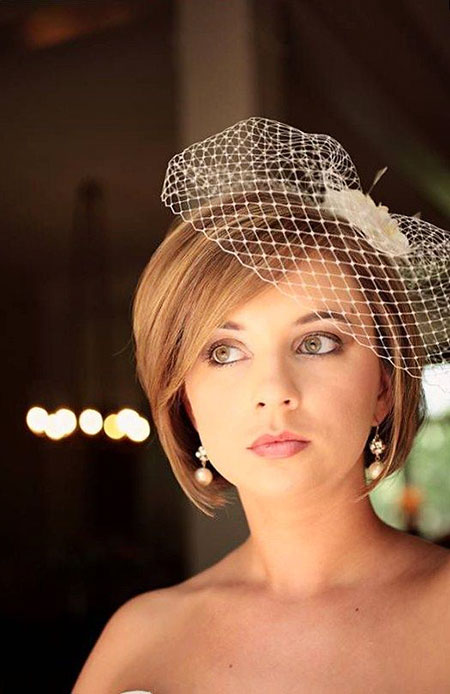 18 Wedding Hairstyles For Short Hair Bob Trendy Short