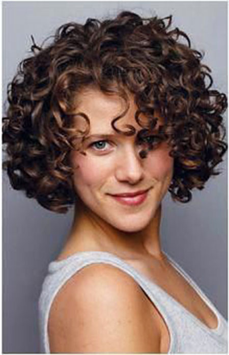 Curly Hair Short Styles