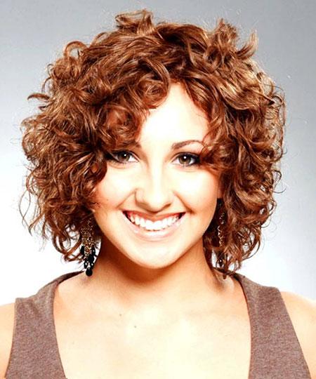 Curly Hair Short Medium